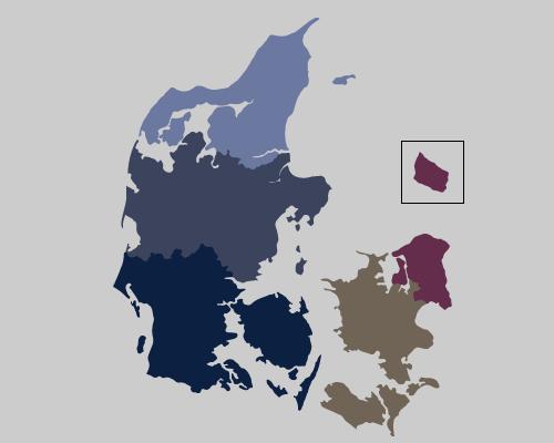 Regioner i Danmark