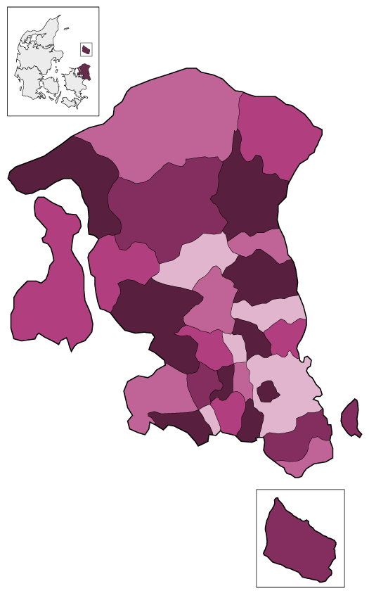 Kommuner i Hovedstaden