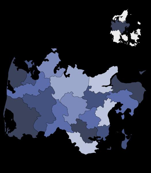 Kommuner i Midtjylland