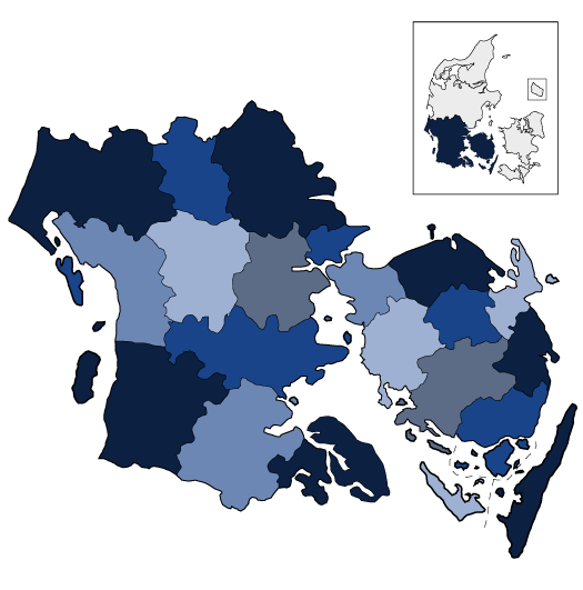 Syddanmarks kommuner